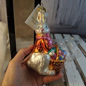 Christopher Radko ornament xmas tree basket bounty